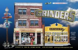 Grinders Outside