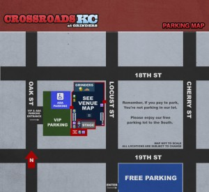 Parking Map CrossroadsKC