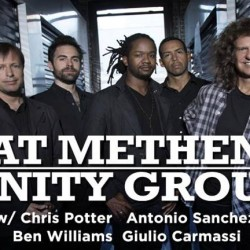 Pat Metheny Unity Group will be playing at CrossroadsKC at Grinder's this Saturday with Bruce Hornsby! Get your tickets now and see music legends live this weekend!